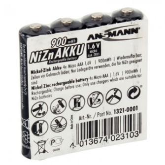 999650 ANSMANN LR03 Ni-Zn Akku