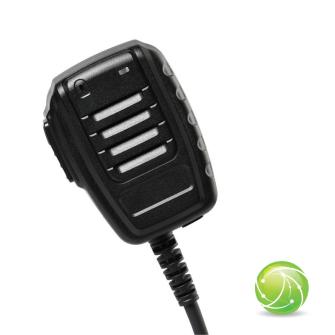 AIRBUS / POLYCOM / TETRAPOL / EADS / AKKUPOINT Handmonofon klein zu TPH900 / Blue LED / IP67