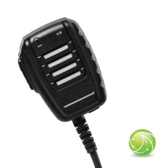 AIRBUS / POLYCOM / TETRAPOL / EADS / AKKUPOINT Handmonofon klein zu TPH700 / Blue LED / IP67
