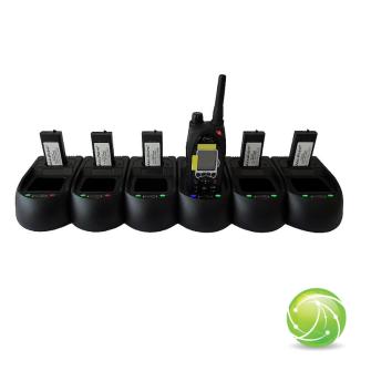 AIRBUS / POLYCOM / TETRAPOL / EADS / AKKUPOINT Charging station multi slot for TPH700