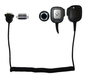 999775 AIRBUS / POLYCOM / TETRAPOL / EADS / Handmonofon TPH700 mit roter LED zu Fahrzeugadapter