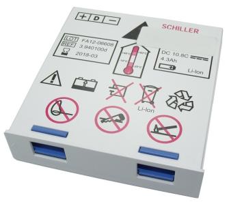 999849 SCHILLER Medizinakku zu Defibrillator Defigard 5000 / Ref. DG5000 / ORIGINAL