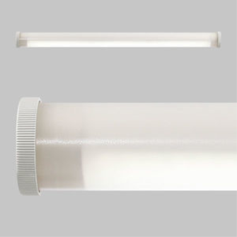 999878 SONLUX Schutzrohrleuchte LED / Borosilikatglasrohr 965mm / IP 67 / 4'350 Lumen / 4000K