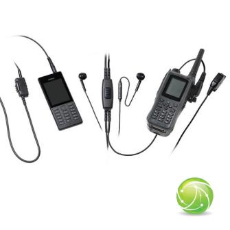 AKKUPOINT FBI KIT CONFERENCE for Smartphone & Radio / Finger PTT/Clip PTT / 3.5mm jack / for TPH900