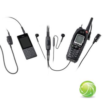 AKKUPOINT FBI KIT CONFERENCE for Smartphone & Radio / Finger PTT/Clip PTT /  3.5mm jack / for TPH700