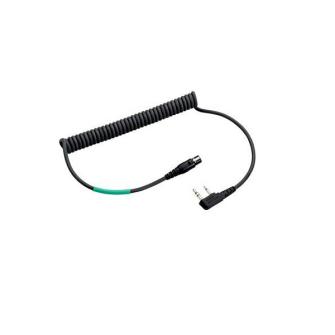 HEADSET PELTOR Flex 2 Cable / zu Gehörschutzgarnitur Flex 2 Standard / zu Kenwood 2-Pin