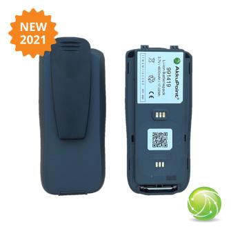 AKKUPOINT Two-way radio battery '21 TPH900 Clip / CE