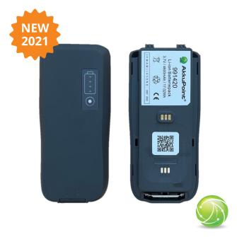 AKKUPOINT Two-way radio battery '21 TPH900 LED-Display / CE