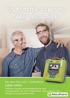 ZOLL AED 3 Defibrillator / Original