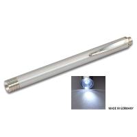 ALU DIAGNOSTICLIGHT Zertifizierte Pupillenleuchte LED WEISS / silber / MDR / EN 62471