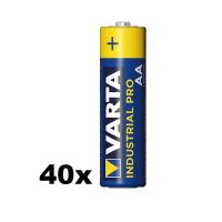 VARTA INDUSTRIAL PRO 4006 AA Mignon LR6 1.5V Alkaline