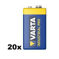 VARTA INDUSTRIAL PRO 4022 E-Block 6LR61 9V Alkaline