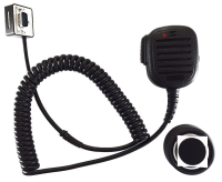 AIRBUS / POLYCOM / TETRAPOL / EADS / Speaker microphone with red LED and Magnet-Holder for TPM700